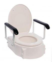 Toiletforhøjer m/armlæn og brædt