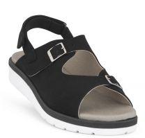 New Feet Sort Sandal Mikrofiber