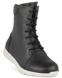 New Feet Sort Snørestøvle