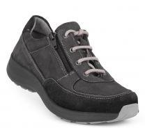 New Feet Sort Sportssko m/lynlås