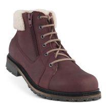 New Feet Bordeaux Støvlet m/lynlås