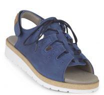 New Feet Blå Sandal m/Snøre