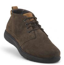 New Feet Brun Snørestøvlet Ruskind