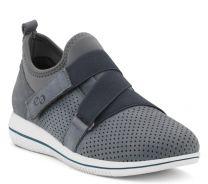 Green Comfort Blå Sko med Velcro