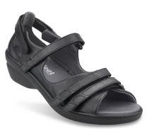 New Feet Sandal Sort m/bagkappe