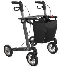 Rollator Server Grå Med Soft hjul