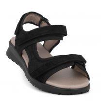 New Feet Sort Sandal Kalveskind