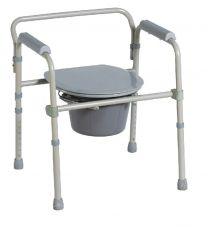 Toiletstol, kan foldes sammen
