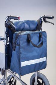 Kørestolstaske m/refleks