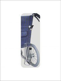 Iltflaske-holder til kørestol
