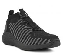 Green Comfort Sort Sneaker Textil