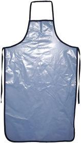Forklæde blå til bad 76x126cm