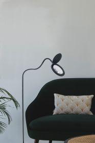 Magni Lup Gulvlampe 10,5W Sort