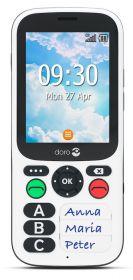 Doro 780X 3G hvid/sort