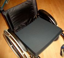 Kørestolspude