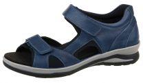 Fidelio Sandal Blå med Velcroremme