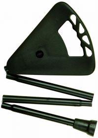 Stok og sæde, foldsammen model
