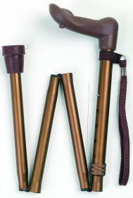 Stok foldsammen bronze anatomisk, Højre