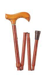 Stok foldsammen træhåndtag