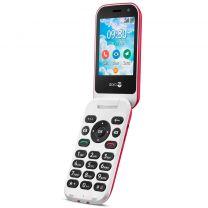 Doro 7081 Mobil 4G Rød/Hvid