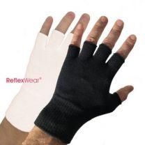 Tynde handsker uden fingre - sort