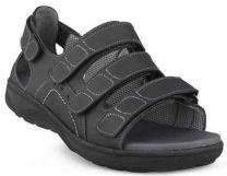 New Feet Sandal Sort m/hælkappe