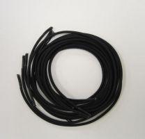 Snørrebånd sort elastiske 61 cm