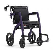 Rollz Kørestol og Rollator mørk Lilla