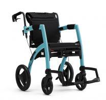 Rollz Kørestol og Rollator Isblå