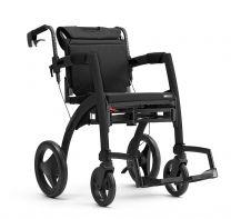 Rollz Kørestol og Rollator Sort