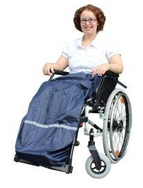 Regnslag til kørestolsbruger