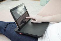Sengebord Sort med tablet holder