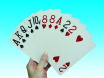 Spillekort i Overstr. Str 68x86mm