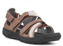 New Feet Brun Sandal m/velcro