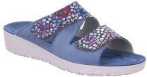 Rohde Blå Slipper Sandal med Velcro