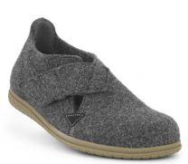 New Feet Hjemmesko Antrasith Uld Filt