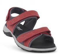 New Feet Rød Sandal