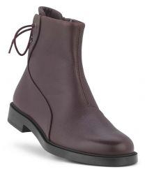 New Feet Dark Wine Snørestøvle