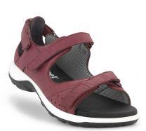New Feet Bordeaux Sandal m/hælkappe