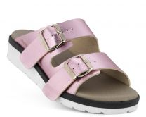 New Feet Rosa Slipper m/Metallook