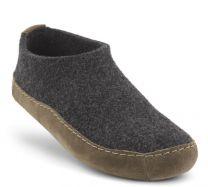New Feet Antrasith Hjemmesko Uld Filt