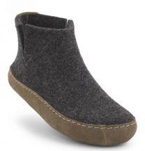 New Feet Antrasith Hjemmesko Uldfilt