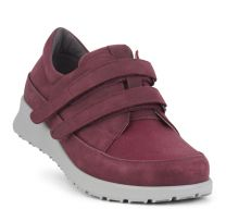 New Feet Bordeaux Sko med Stretch