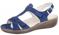 Fidelio Blå Sandal med velcroremme