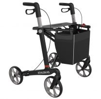 Rollator Sort Athlon Kulfiber XL model