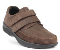 New Feet Brun Herresko med Velcro