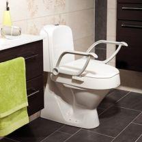 Toiletforhøjer med armlæn, Cloo