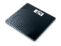 Glasvægt Beurer GS210 sort m/prikker