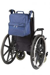 Kørestolstaske med lynlås