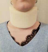 Halskrave i Blødt Skum Beige